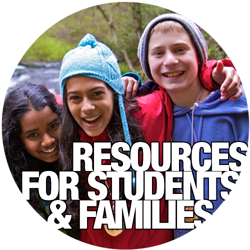 Resources for Students and Families