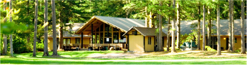 Main lodge at Cascade
