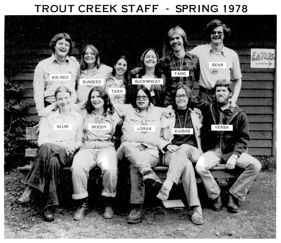 Trout Creek Spring 1978