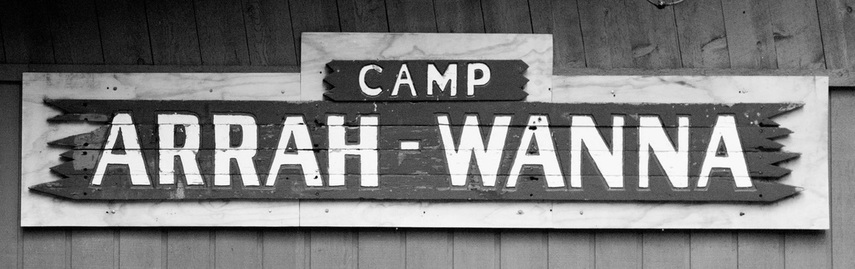 Camp Arrah Wanna sign