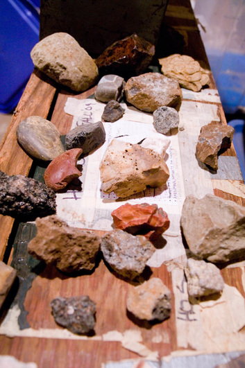 geology rock collection